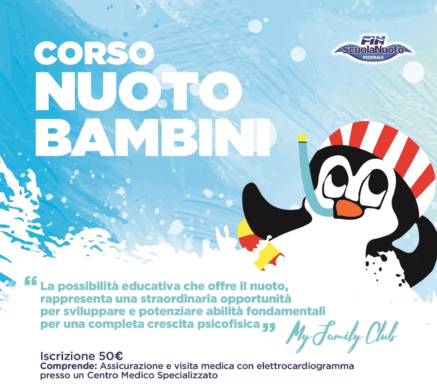 Scuola nuoto bimbi 2018